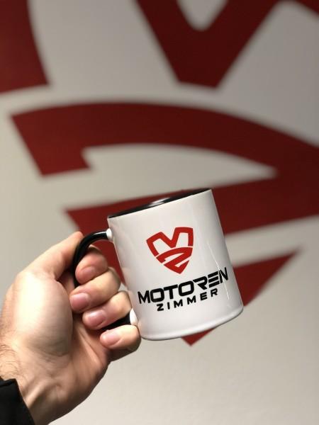 Motoren Zimmer Premium Tasse Schwarz