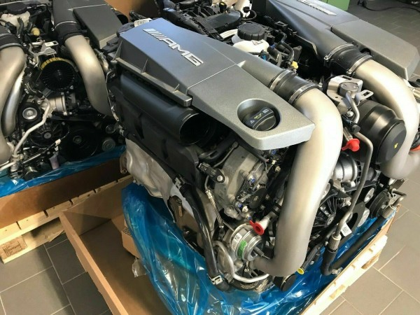 Mercedes S63 AMG Motor m157 157.985